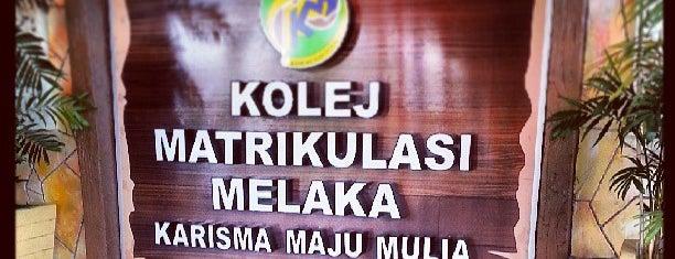 Kolej Matrikulasi Melaka is one of Learning Centers,MY #5.