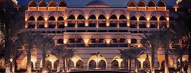 Jumeirah Zabeel Saray is one of Hotels.