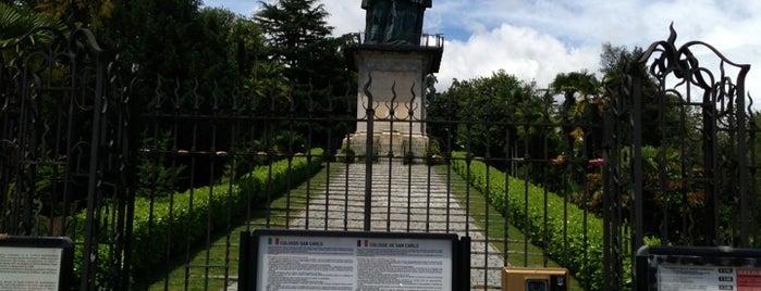 Colosso di San Carlo Borromeo is one of Arona.