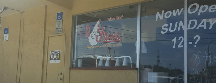 Fran's Chicken Haven is one of Peewee's Big Ass South Florida Food Adventure!.