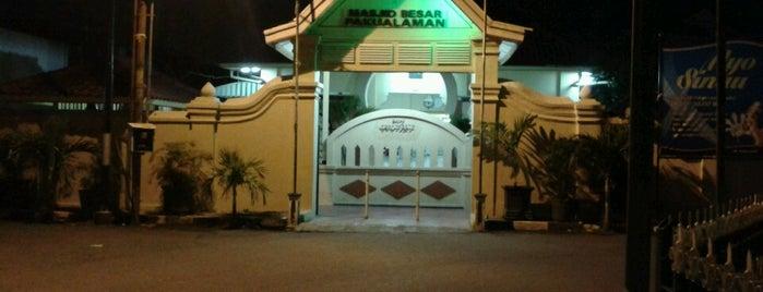 Masjid Besar Pakualaman is one of Masjid.