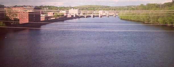 Merrimack River is one of Haverhill.