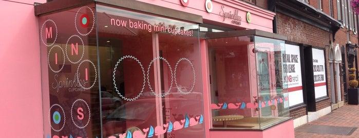 Sprinkles Cupcakes is one of Experience Georgetown.