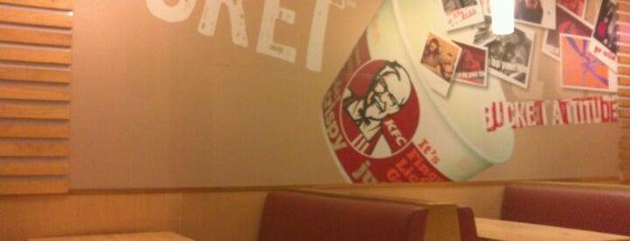 KFC is one of Restaurants.