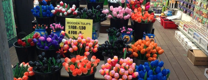 Bloemenmarkt is one of AMSTERDAM.