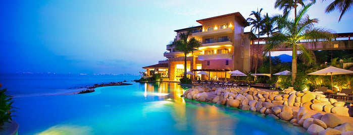 Garza Blanca Preserve Resort & Spa is one of Puerto Vallarta Hotels.