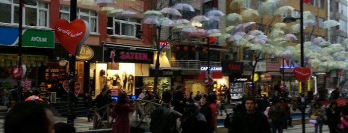 Marmara Caddesi is one of Istanbul.