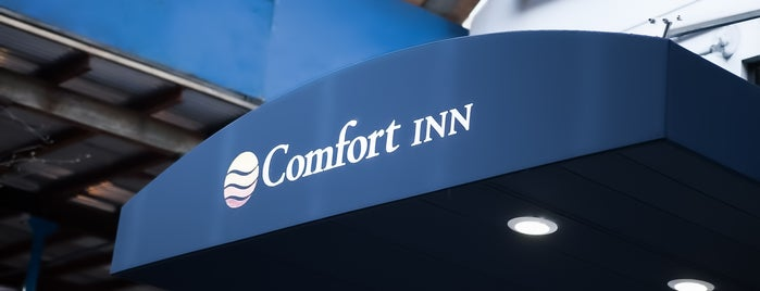 Comfort Inn is one of NY.