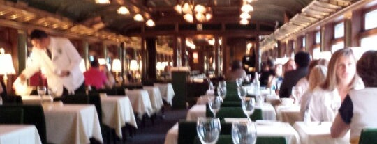 Le Train Bleu is one of Quick, I need a date spot..