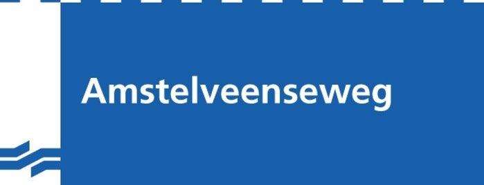 Metrostation Amstelveenseweg is one of werk/school.