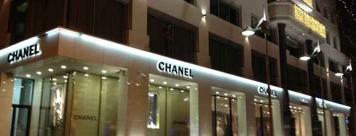 Chanel is one of Must visit.