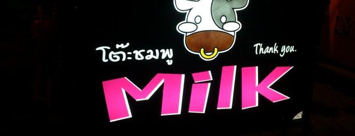 Milk โต๊ะชมพู is one of ?.