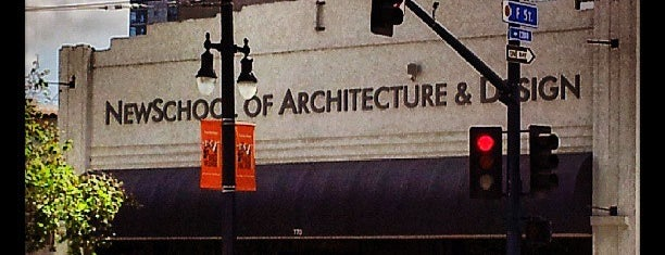 Newschool Of Architecture And Design is one of My Favorites in SD.
