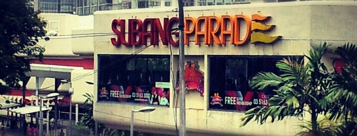 Subang Parade is one of F&B.