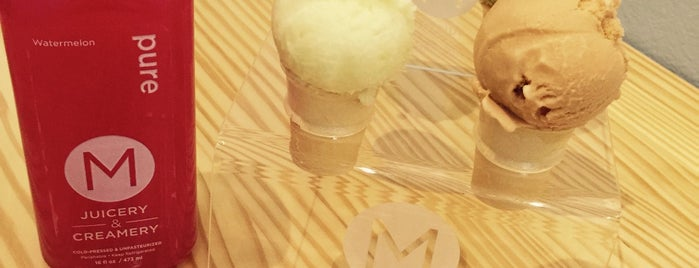 M Juicery & Creamery is one of SoCal Screams for Ice Cream!.