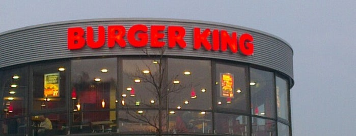 Burger King is one of Fastfood.
