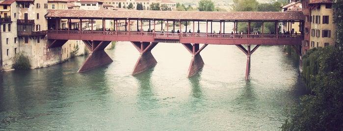 Ponte degli Alpini is one of Veneto best places.
