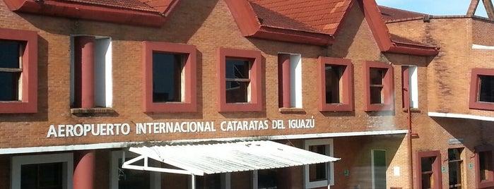 Cataratas del Iguazú International Airport (IGR) is one of Lugares.