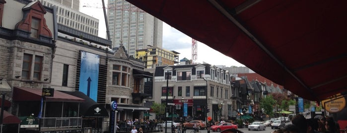 Sir Winston Churchill Pub is one of Best Terrasses in Montreal.