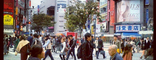 Shibuya is one of Tokyo.