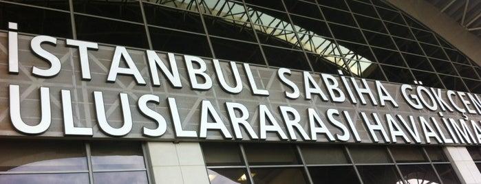 Istanbul Sabiha Gökçen International Airport (SAW) is one of Airports in Turkey.