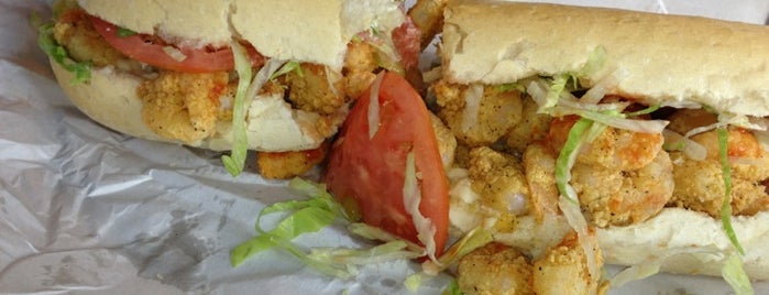 Guy's Po-Boys is one of New Orleans/Lafayette.
