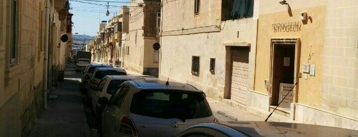 Hypogeum Ħal-Saflieni is one of Malta.