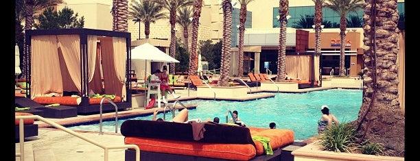 Aliante Casino Pool is one of The 15 Best Hotel Pools in Las Vegas.