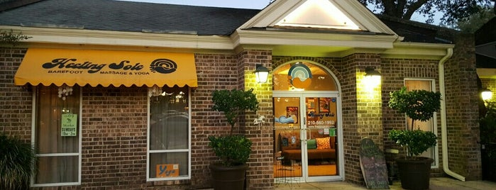 Heeling Sole Barefoot Massage & Yoga is one of Current Best Of San Antonio 2012.
