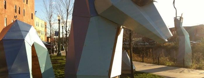 """Walt, the Loch West Monster"" By Brendan Rose is one of Art in Syracuse."