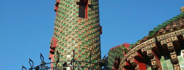 El Capricho de Gaudí is one of Porto-Bilbao.