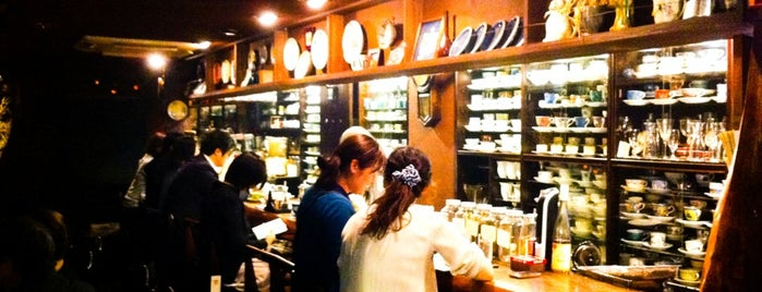 自家焙煎珈琲 凡 Home Brewed Cafe Bon is one of 珈琲の名店12選+α(東京).