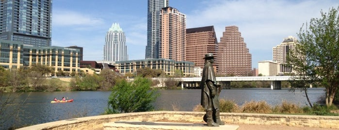 Lady Bird Lake Trail is one of Outdoor Activities.