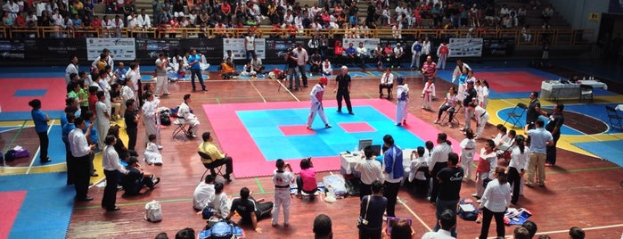 Gimnasio Universitario (UABJO) is one of All-time favorites in Mexico.