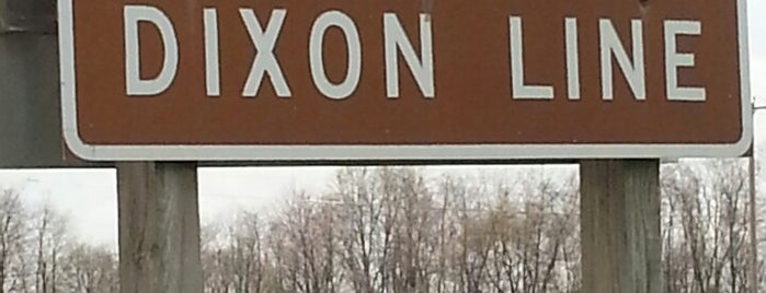 Mason-Dixon Line (US-1) is one of Places I've been.