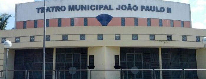Teatro Municipal João Paulo II is one of 100 Melhores Programas em Teresina - Pi.