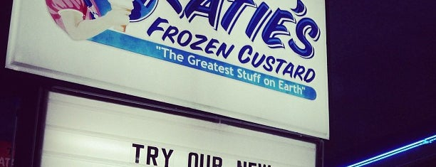 Katie's Frozen Custard is one of FOOD in Dallas-Ft Worth Metroplex.