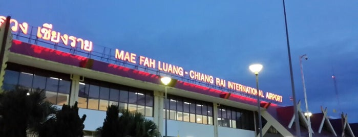 Mae Fah Luang - Chiang Rai International Airport (CEI) is one of Chaing rai temple.