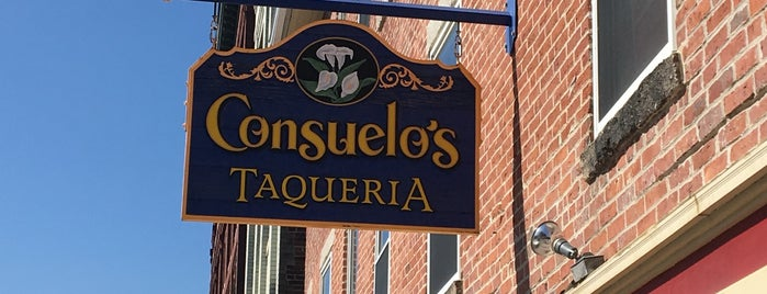 Consuelo's Taqueria is one of Manchester, Downtown.