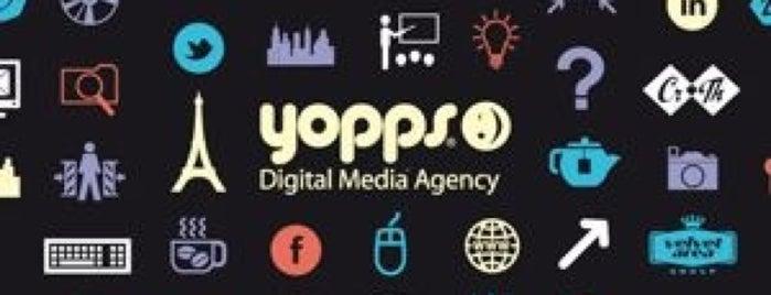 Yopps Innovation Agency is one of Agences Com' & Médias Sociaux parisiennes.