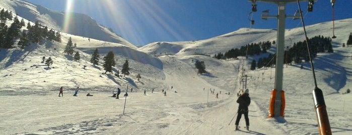 Kalavrita Ski Resort is one of Skiing and Snowboarding in Greece.