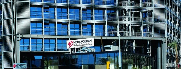 Metropolitan Hospital is one of Must-visit Great Outdoors in Piraeus.