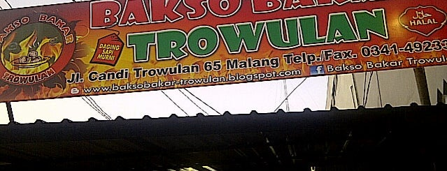 Bakso Bakar Trowulan is one of 20 favorite restaurants.