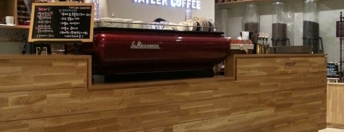 TATLER COFFEE is one of Cafes in Seoul.
