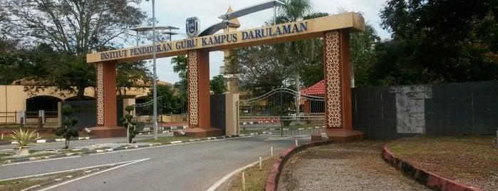 Institut Pendidikan Guru Kampus Darulaman is one of Learning Centers,MY #5.