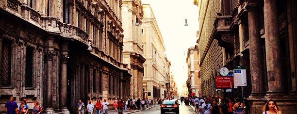 Via del Corso is one of Rome.