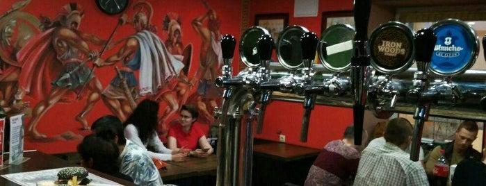 Sparta Grill Bar is one of Бургеры в Питере.