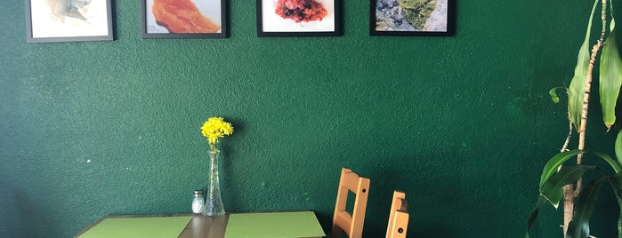 VeganAroma Organic Cafe is one of Miami ☀️🌊🚤.