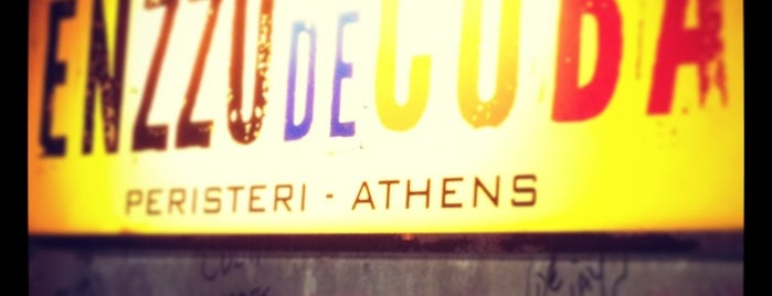 Enzzo de Cuba is one of Athens Approved.