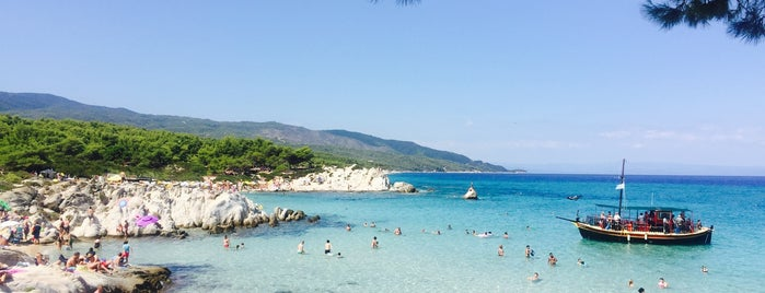 Orange Beach-Sarti is one of 🌞🌊Chalkidiki-->to The Beach 🐋🐬🐟🐠🐡🦀.